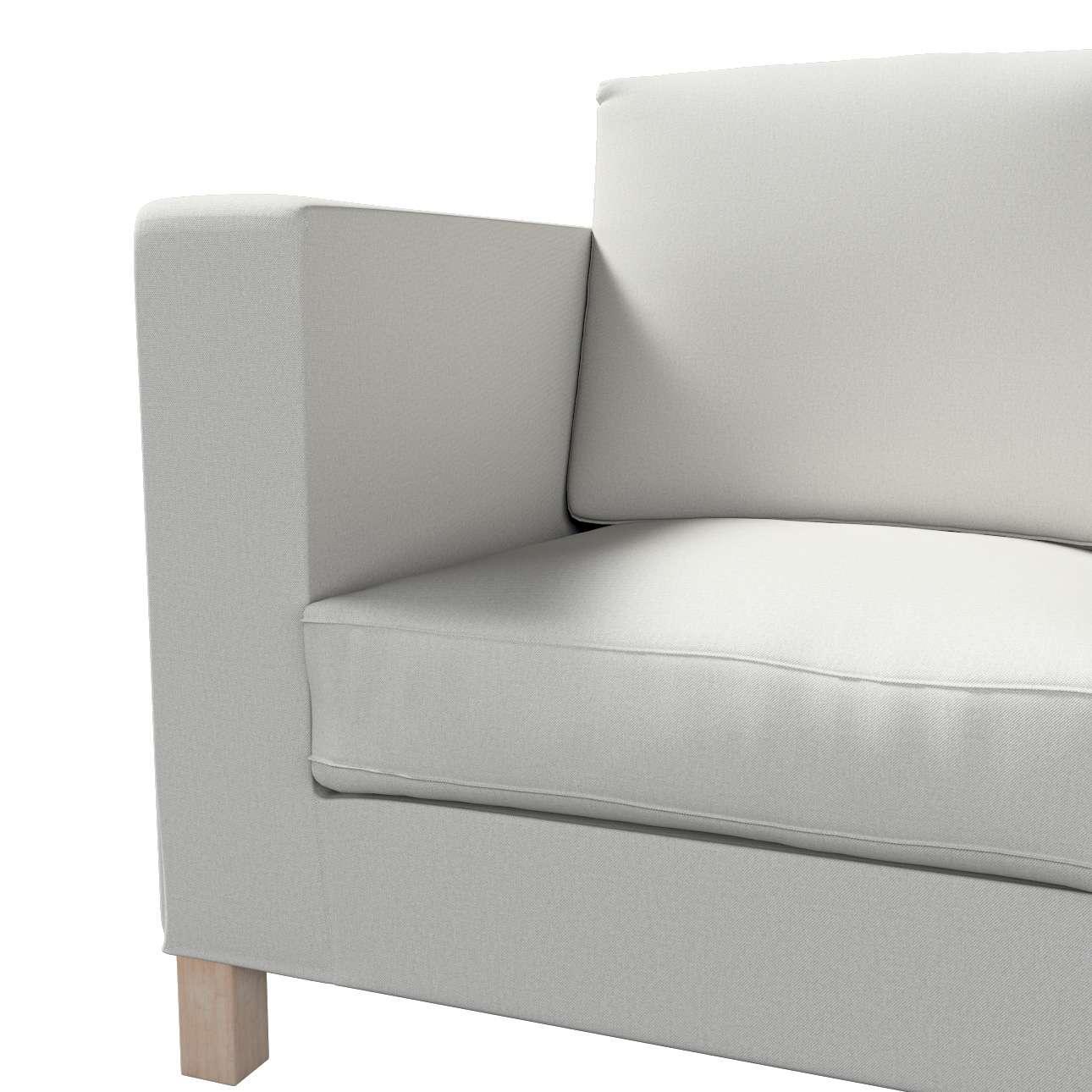 Karlanda klädsel <br>3-sits soffa - kort klädsel i kollektionen Etna, Tyg: 705-90