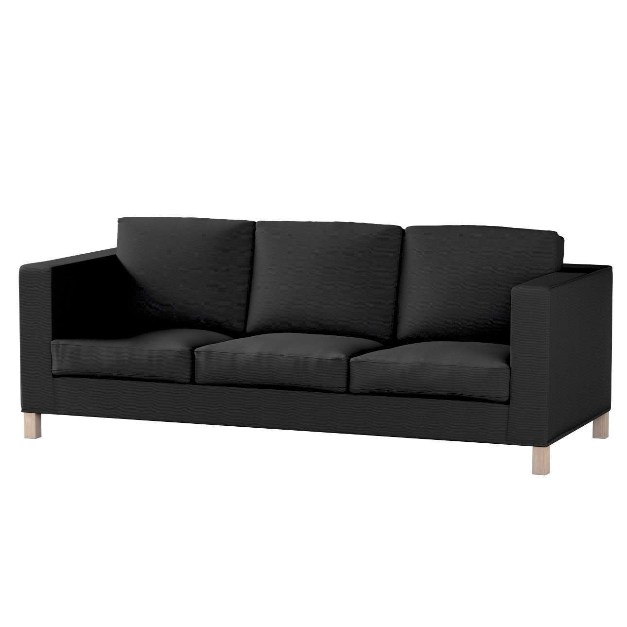Potah na pohovku IKEA  Karlanda 3-místná nerozkládací, krátký pohovka Karlanda 3-os v kolekci Etna, látka: 705-00