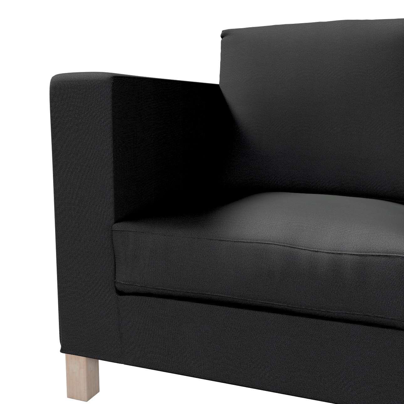 Bezug für Karlanda 3-Sitzer Sofa nicht ausklappbar, kurz von der Kollektion Etna, Stoff: 705-00
