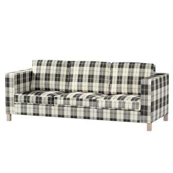 Potah na pohovku IKEA  Karlanda 3-místná nerozkládací, krátký pohovka Karlanda 3-os v kolekci Edinburgh, látka: 115-74