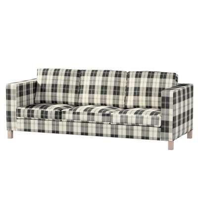 Pokrowiec na sofę Karlanda 3-osobową nierozkładaną, krótki w kolekcji Edinburgh, tkanina: 115-74