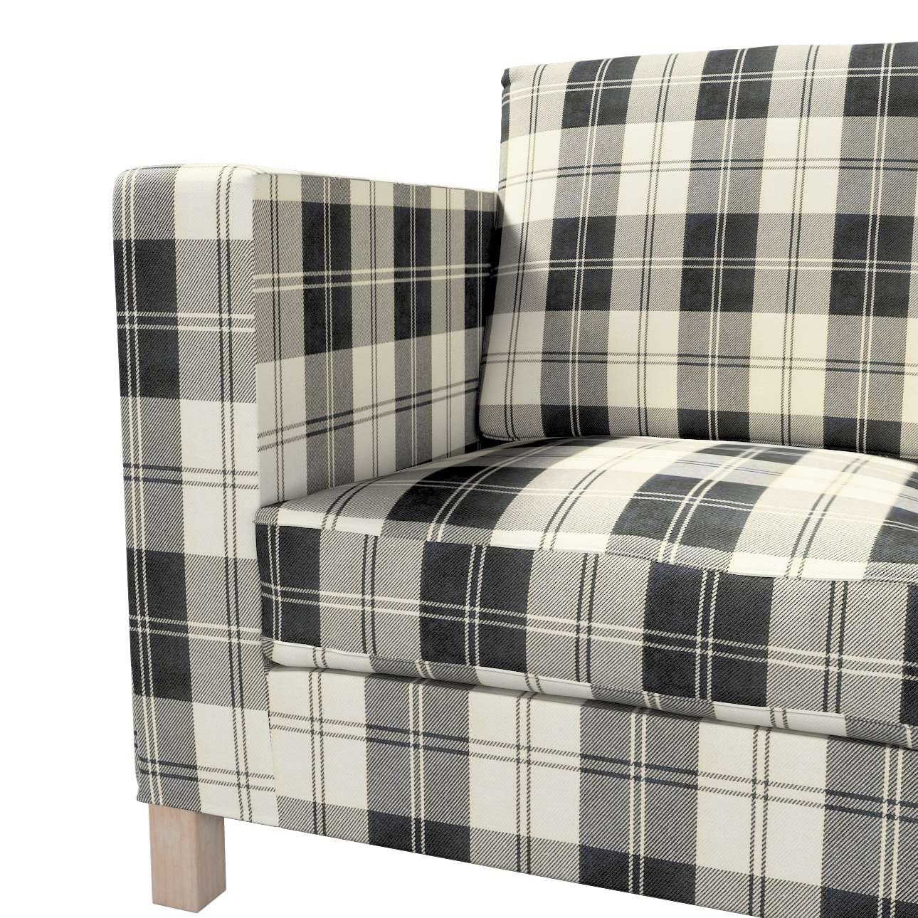 Karlanda klädsel <br>3-sits soffa - kort klädsel i kollektionen Edinburgh, Tyg: 115-74