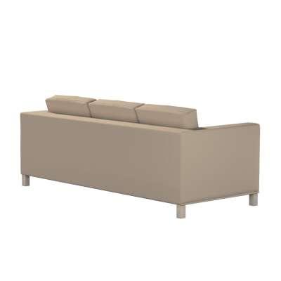 Bezug für Karlanda 3-Sitzer Sofa nicht ausklappbar, kurz von der Kollektion Cotton Panama, Stoff: 702-28