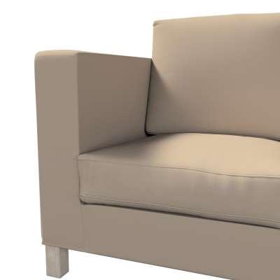 Karlanda klädsel <br>3-sits soffa - kort klädsel i kollektionen Panama Cotton, Tyg: 702-28