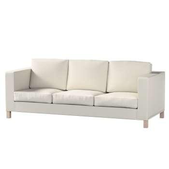 Karlanda 3-Sitzer Sofabezug nicht ausklappbar kurz von der Kollektion Cotton Panama, Stoff: 702-31