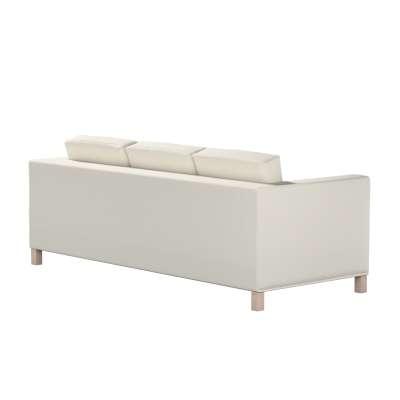 Bezug für Karlanda 3-Sitzer Sofa nicht ausklappbar, kurz von der Kollektion Cotton Panama, Stoff: 702-31