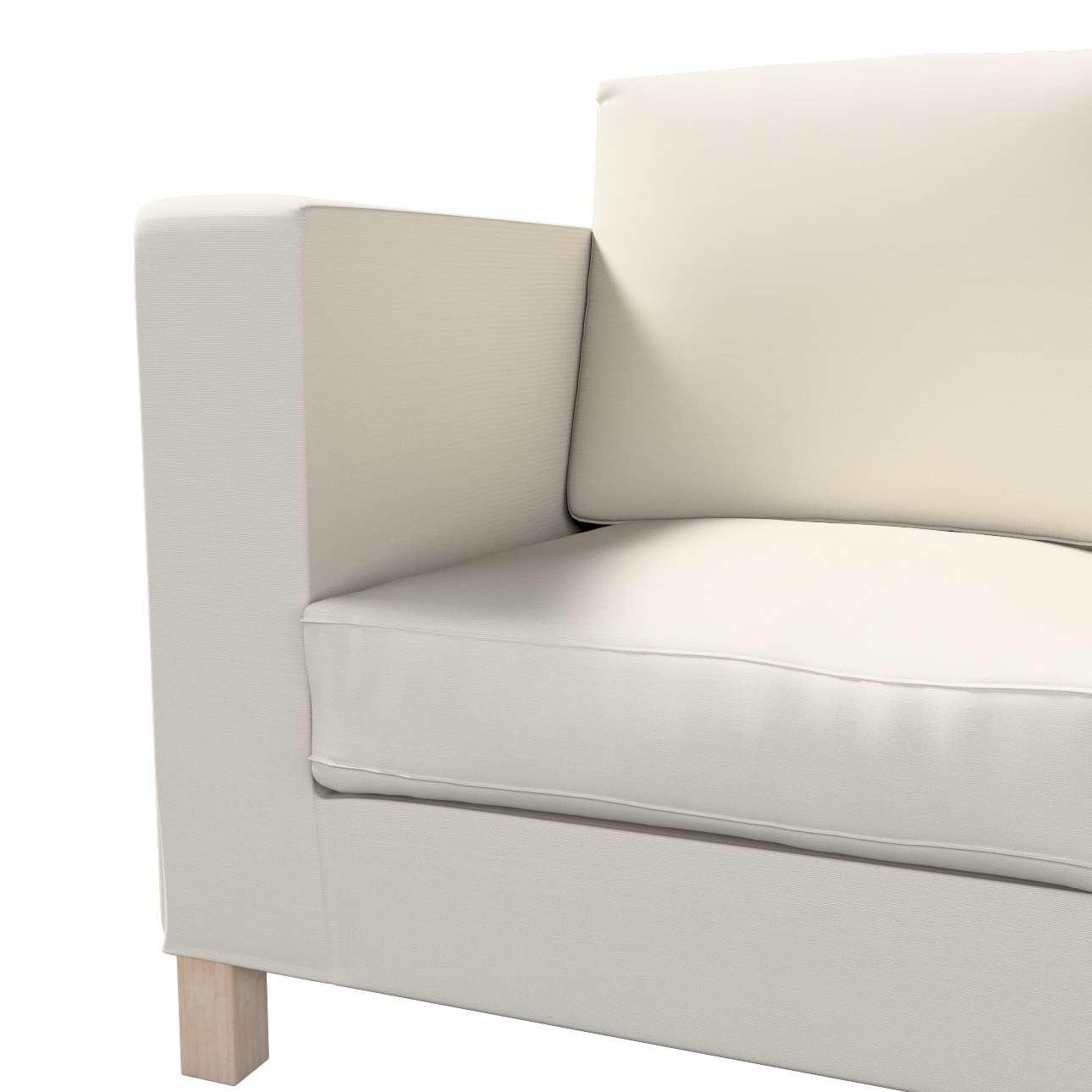 Karlanda betræk 3 sæder, kort fra kollektionen Cotton Panama, Stof: 702-31