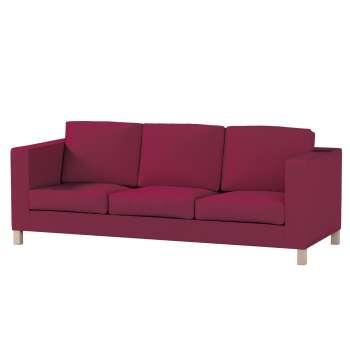 Karlanda 3-Sitzer Sofabezug nicht ausklappbar kurz von der Kollektion Cotton Panama, Stoff: 702-32
