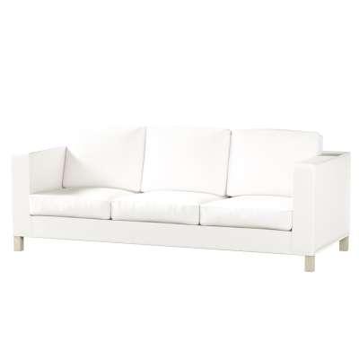 Karlanda 3-Sitzer Sofabezug nicht ausklappbar kurz von der Kollektion Cotton Panama, Stoff: 702-34