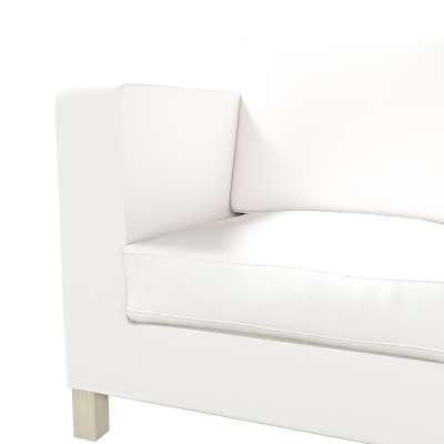 Pokrowiec na sofę Karlanda 3-osobową nierozkładaną, krótki w kolekcji Cotton Panama, tkanina: 702-34