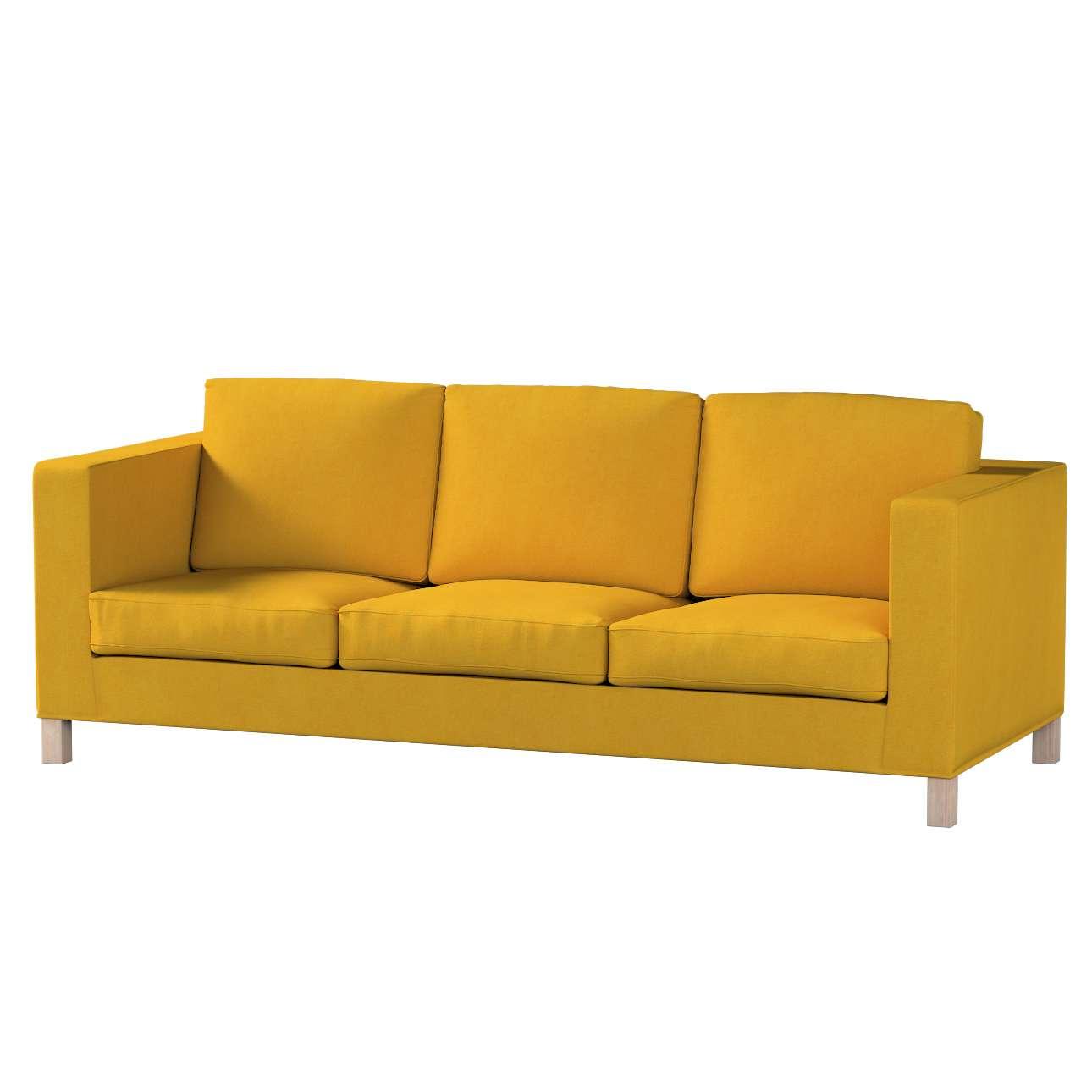 Karlanda 3-Sitzer  Sofabezug nicht ausklappbar kurz Karlanda 3-Sitzer, kurz von der Kollektion Etna, Stoff: 705-04