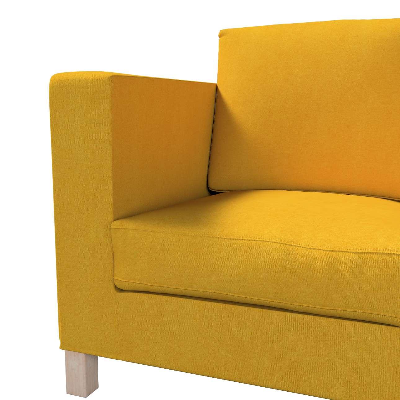 Karlanda klädsel <br>3-sits soffa - kort klädsel i kollektionen Etna, Tyg: 705-04