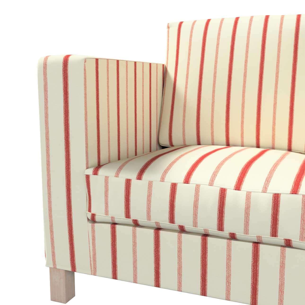 Karlanda 3-Sitzer Sofabezug nicht ausklappbar kurz von der Kollektion Avinon, Stoff: 129-15