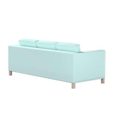 Pokrowiec na sofę Karlanda 3-osobową nierozkładaną, krótki w kolekcji Cotton Panama, tkanina: 702-10