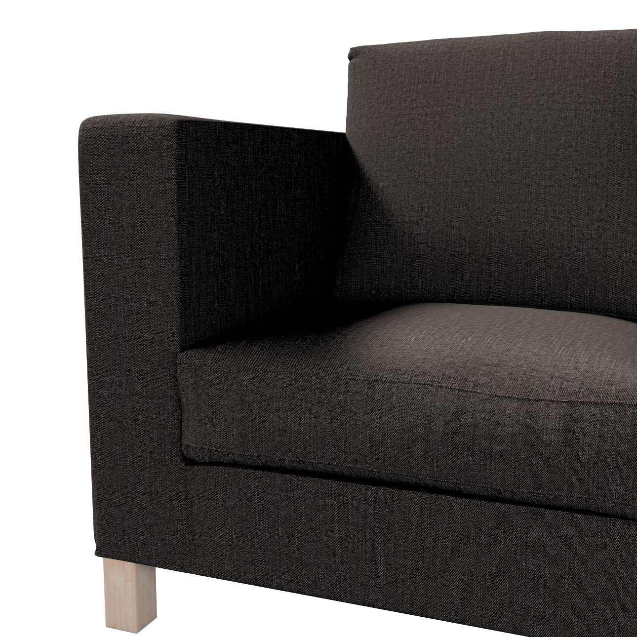 Pokrowiec na sofę Karlanda 3-osobową nierozkładaną, krótki w kolekcji Etna, tkanina: 702-36