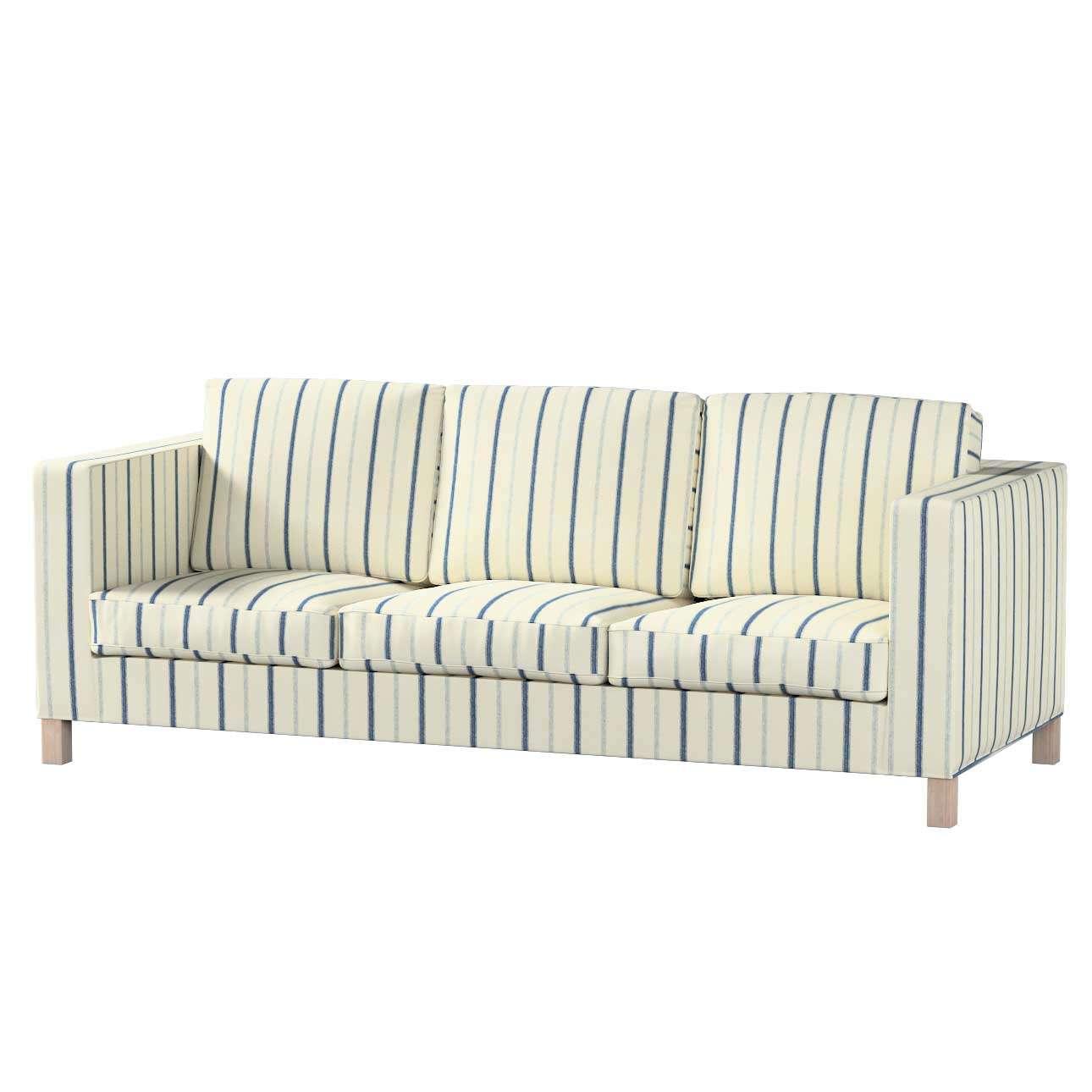 Karlanda 3-Sitzer Sofabezug nicht ausklappbar kurz von der Kollektion Avinon, Stoff: 129-66