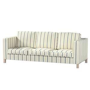 Pokrowiec na sofę Karlanda 3-osobową nierozkładaną, krótki Sofa Karlanda 3-os w kolekcji Avinon, tkanina: 129-66
