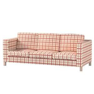 Pokrowiec na sofę Karlanda 3-osobową nierozkładaną, krótki Sofa Karlanda 3-os w kolekcji Avinon, tkanina: 131-15