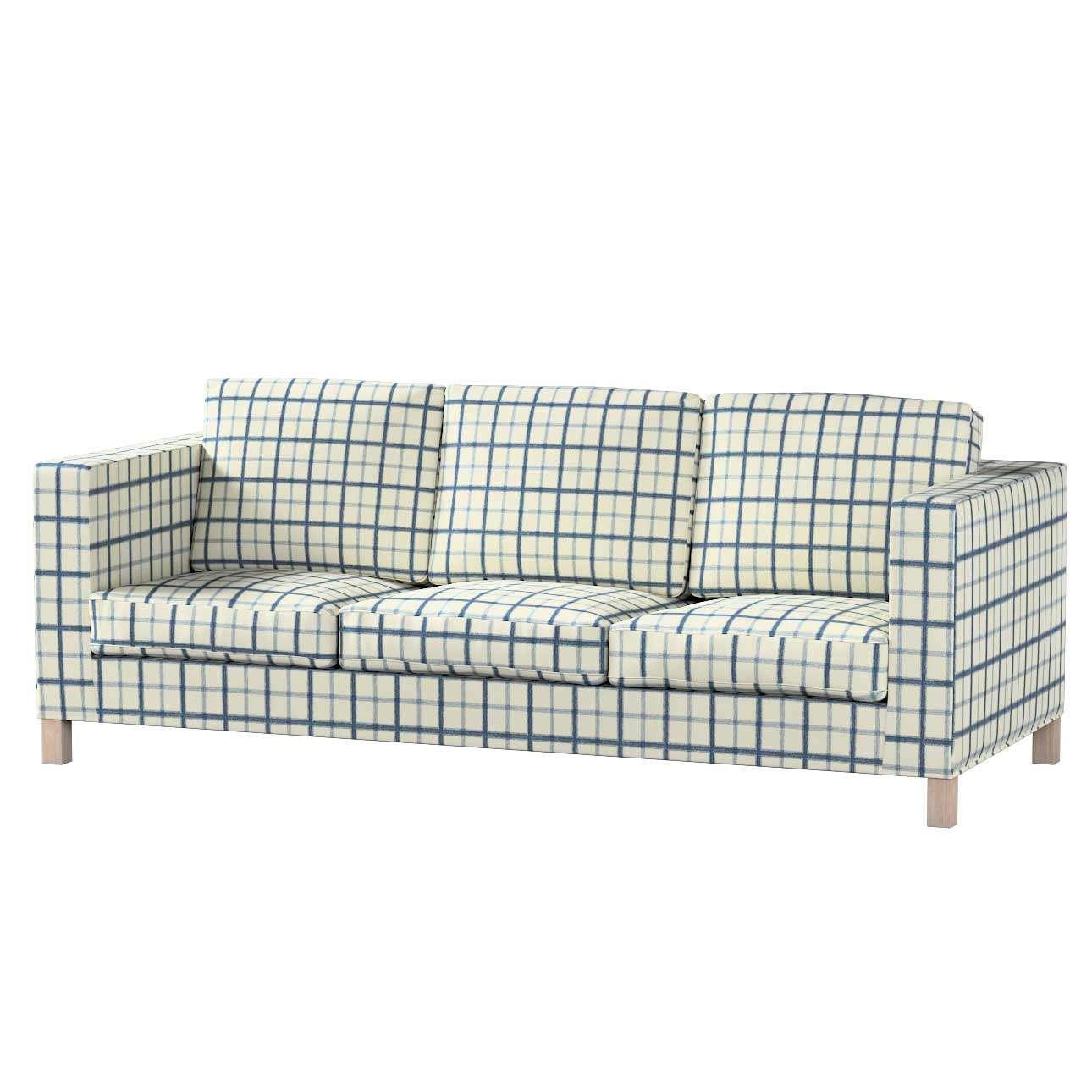 Bezug für Karlanda 3-Sitzer Sofa nicht ausklappbar, kurz von der Kollektion Avinon, Stoff: 131-66