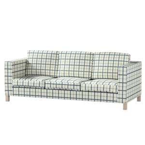 Pokrowiec na sofę Karlanda 3-osobową nierozkładaną, krótki Sofa Karlanda 3-os w kolekcji Avinon, tkanina: 131-66