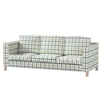 Potah na pohovku IKEA  Karlanda 3-místná nerozkládací, krátký pohovka Karlanda 3-os v kolekci Avignon, látka: 131-66