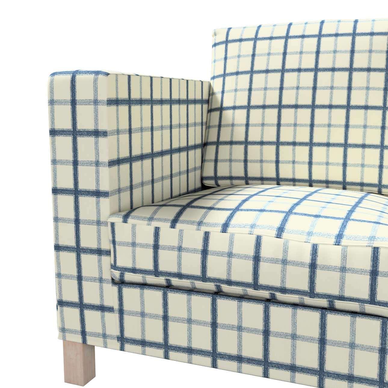 Pokrowiec na sofę Karlanda 3-osobową nierozkładaną, krótki w kolekcji Avinon, tkanina: 131-66