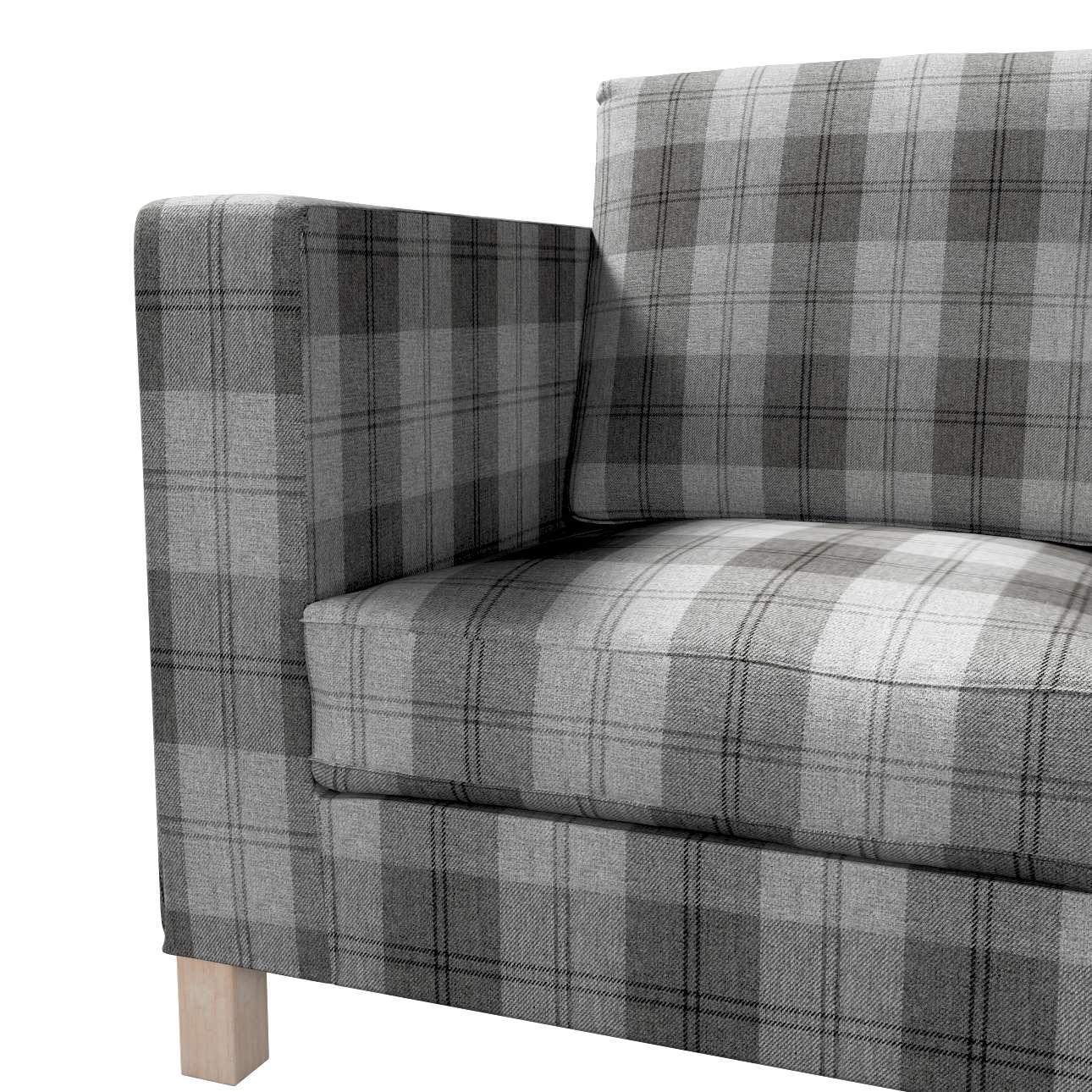 Karlanda klädsel <br>3-sits soffa - kort klädsel i kollektionen Edinburgh, Tyg: 115-75