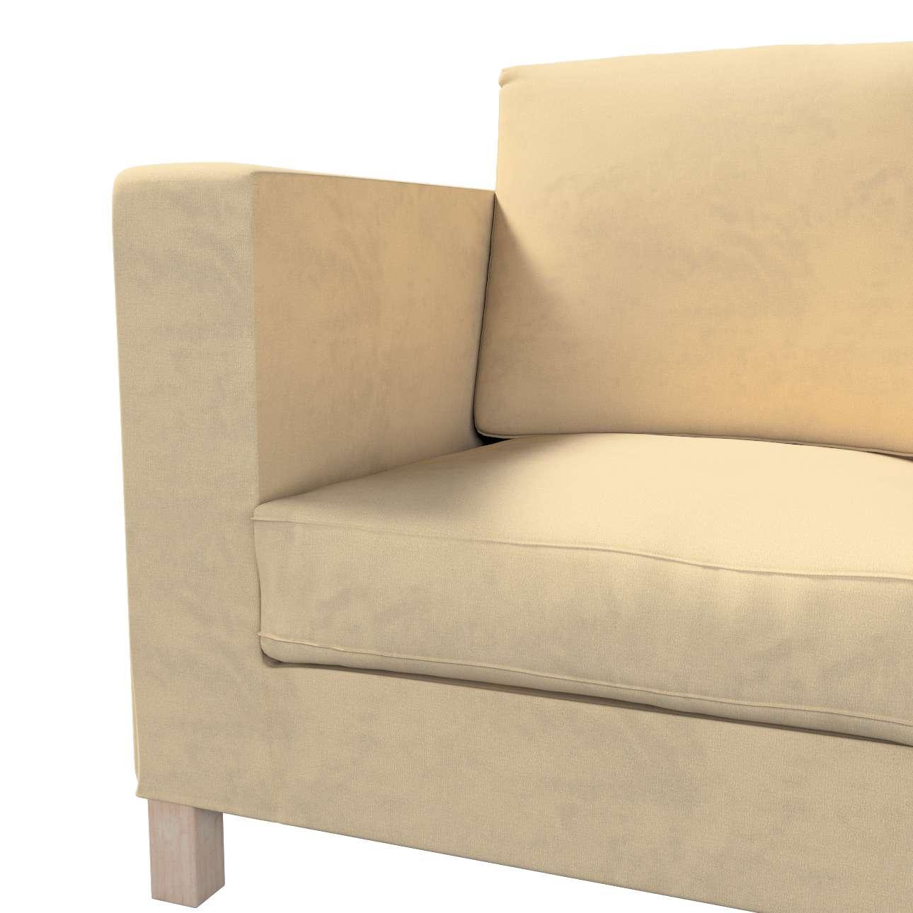 Karlanda klädsel <br>3-sits soffa - kort klädsel i kollektionen Living 2, Tyg: 160-82