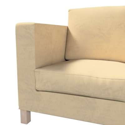 Bezug für Karlanda 3-Sitzer Sofa nicht ausklappbar, kurz von der Kollektion Living II, Stoff: 160-82