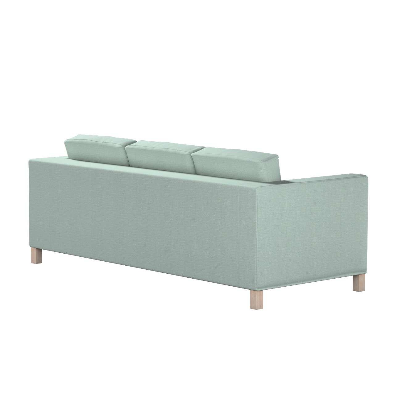 Bezug für Karlanda 3-Sitzer Sofa nicht ausklappbar, kurz von der Kollektion Living II, Stoff: 160-86