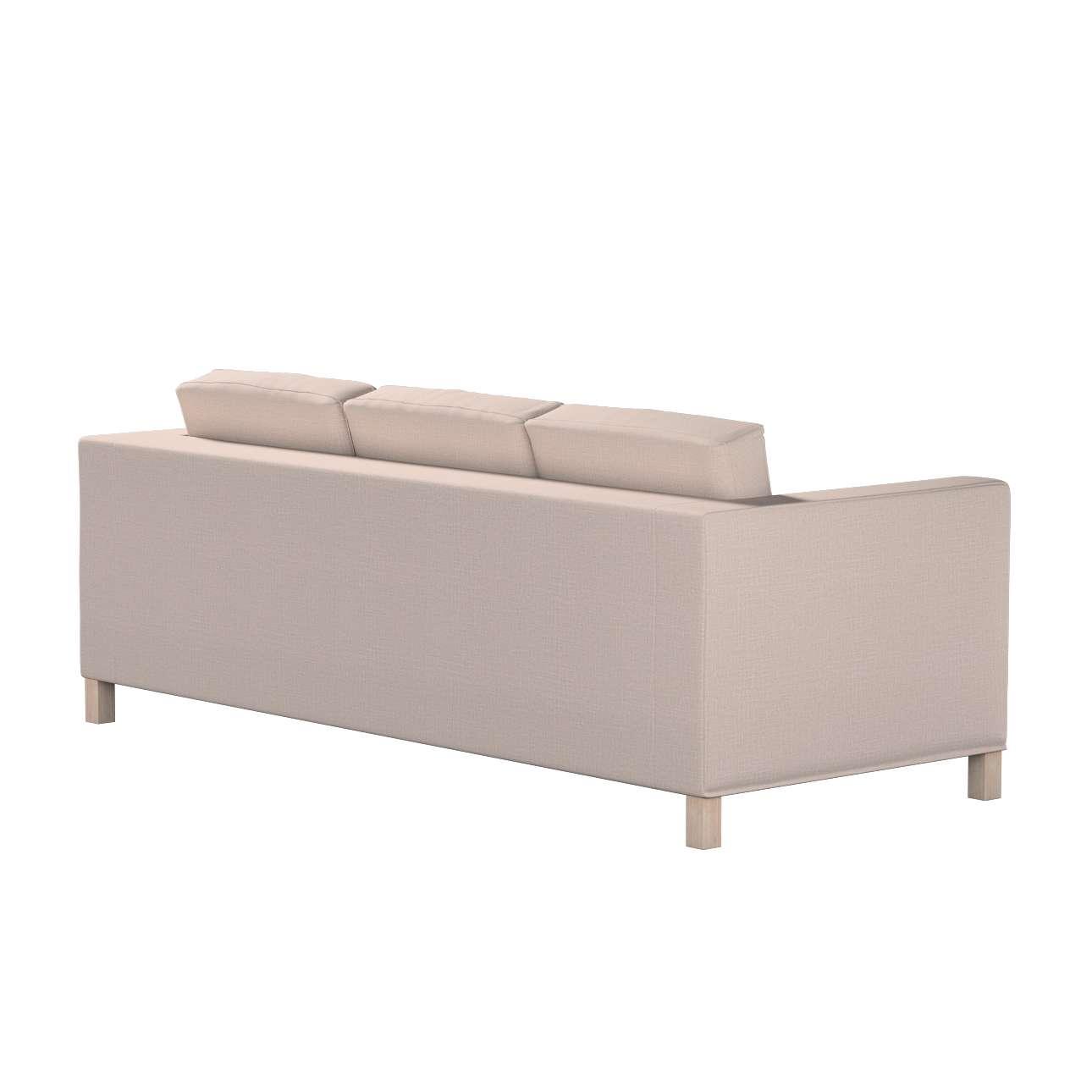 Pokrowiec na sofę Karlanda 3-osobową nierozkładaną, krótki w kolekcji Living II, tkanina: 160-85