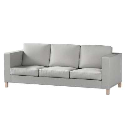 Potah na pohovku IKEA  Karlanda 3-místná nerozkládací, krátký 160-89 šedý melanž Kolekce Living II