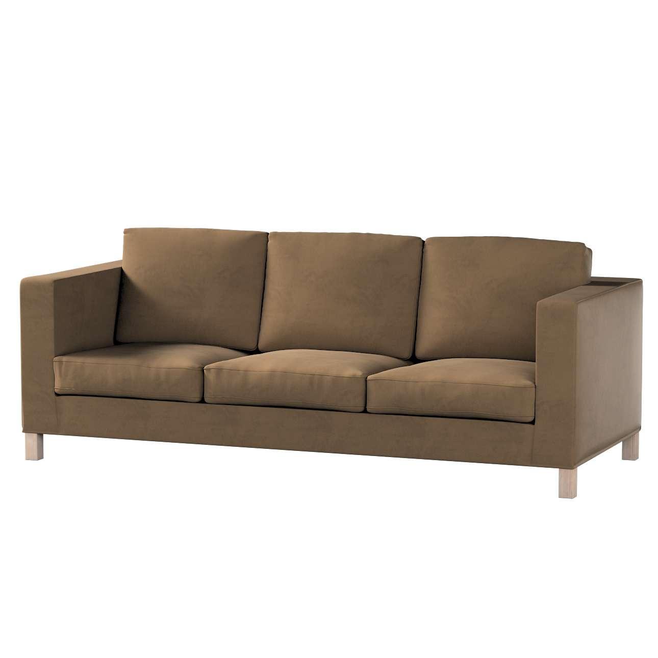 Karlanda klädsel <br>3-sits soffa - kort klädsel i kollektionen Living 2, Tyg: 160-94