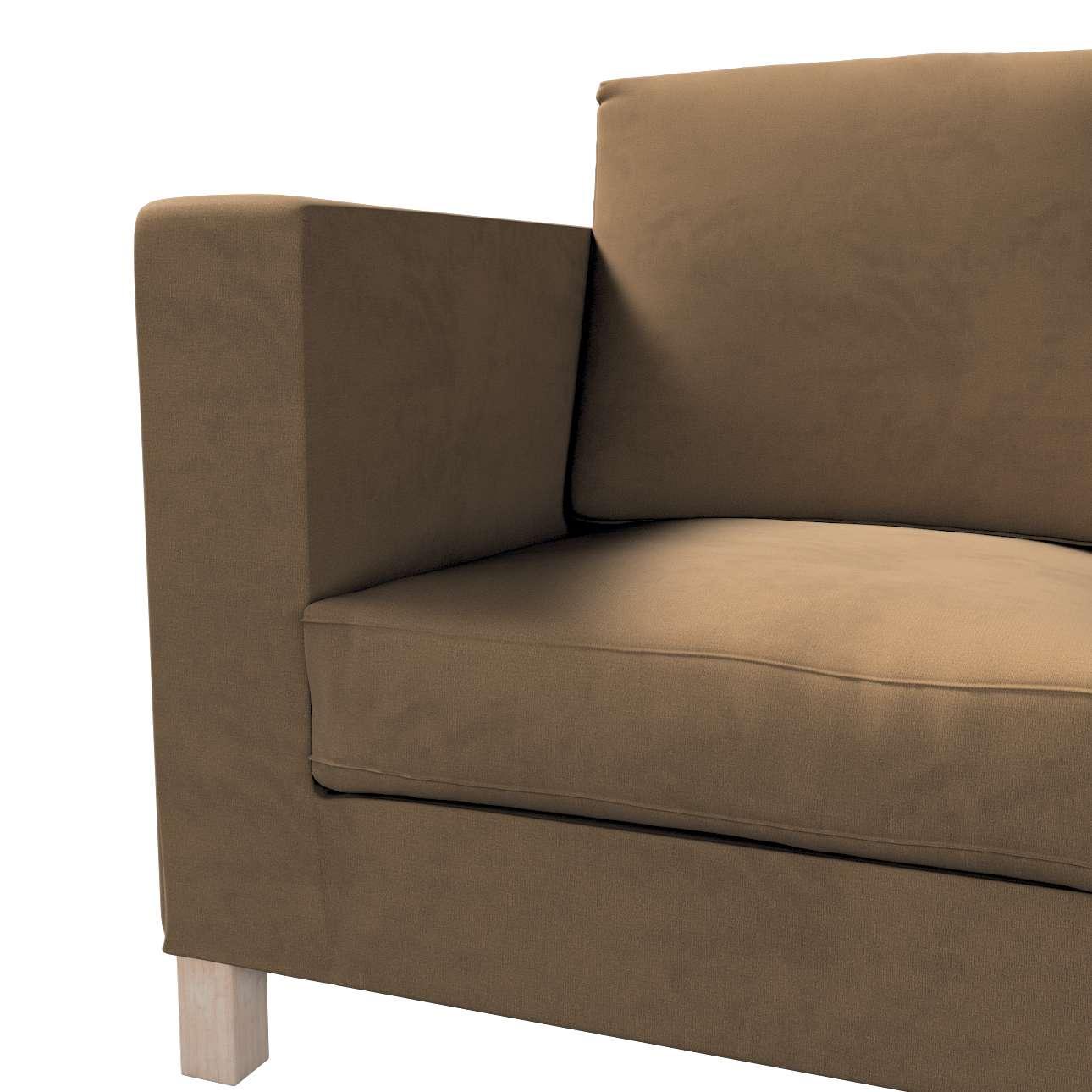 Bezug für Karlanda 3-Sitzer Sofa nicht ausklappbar, kurz von der Kollektion Living II, Stoff: 160-94