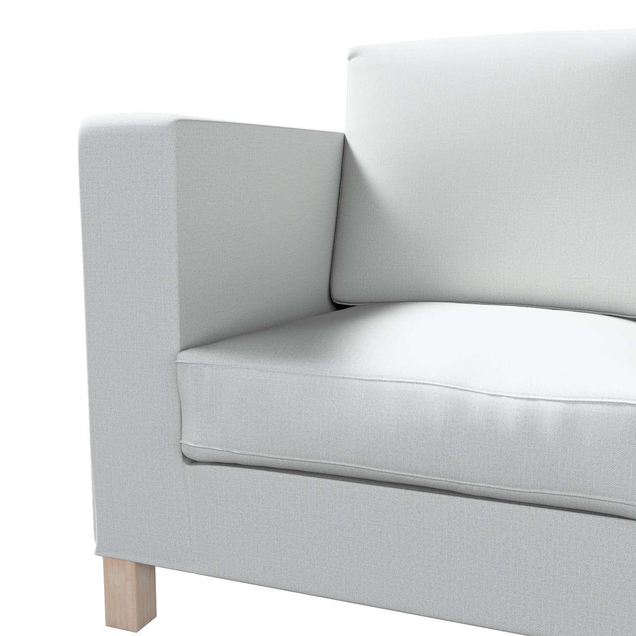 Bezug für Karlanda 3-Sitzer Sofa nicht ausklappbar, kurz von der Kollektion Living II, Stoff: 161-18