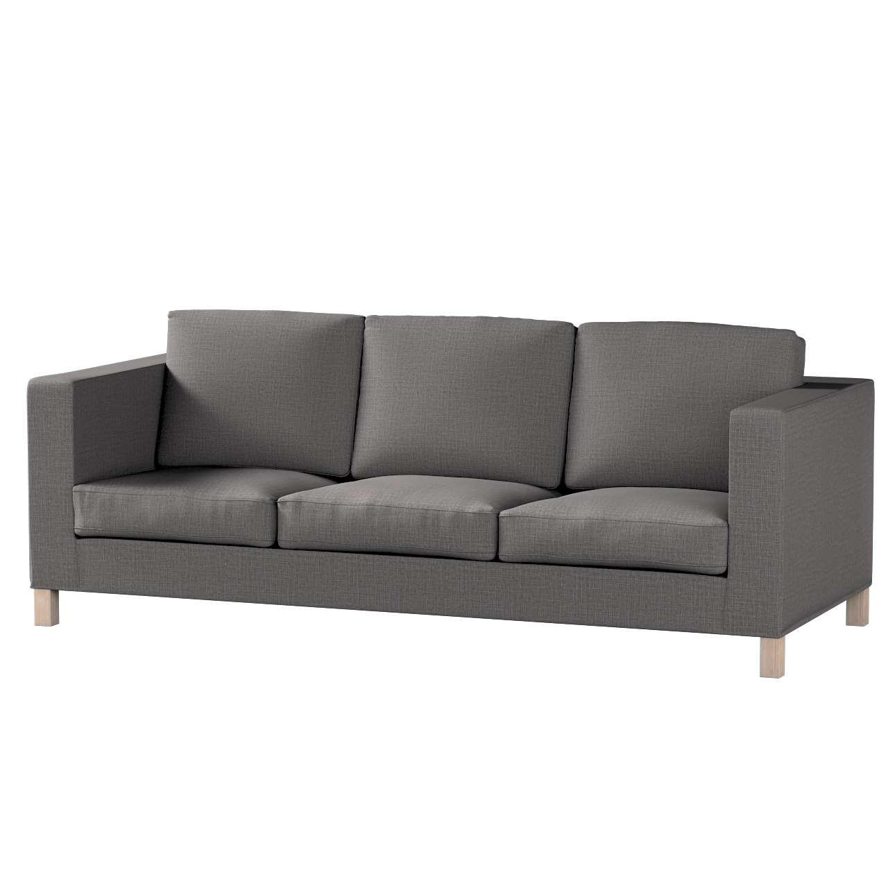 Bezug für Karlanda 3-Sitzer Sofa nicht ausklappbar, kurz von der Kollektion Living II, Stoff: 161-16