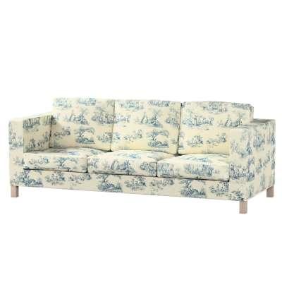 Karlanda 3-üléses  kanapé huzat nem kinyitható rövid a kollekcióból Avinon Lakástextil, Dekoranyag: 132-66