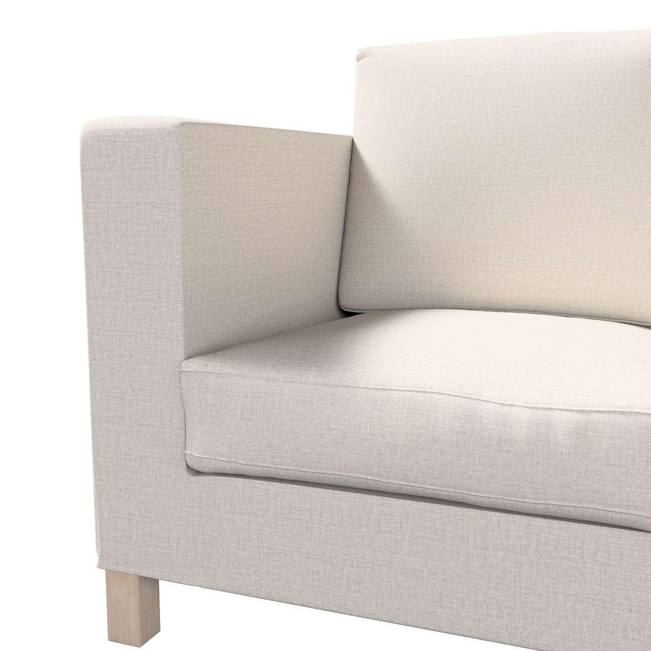 Pokrowiec na sofę Karlanda 3-osobową nierozkładaną, krótki w kolekcji Living, tkanina: 161-00