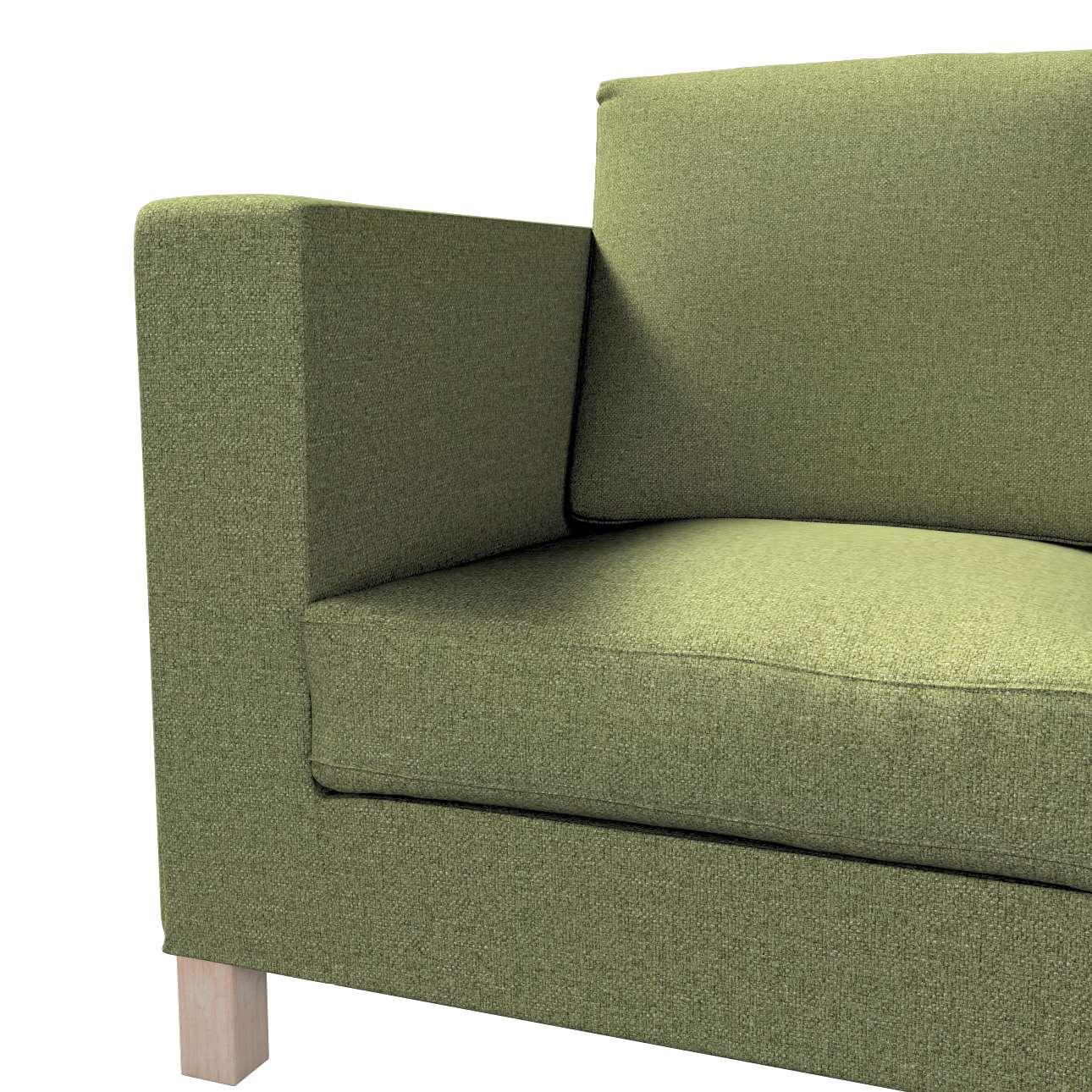 Pokrowiec na sofę Karlanda 3-osobową nierozkładaną, krótki w kolekcji Madrid, tkanina: 161-22