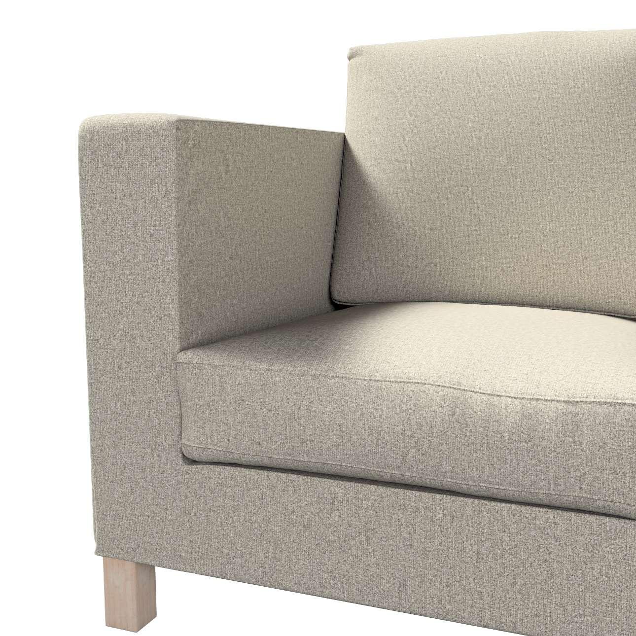 Pokrowiec na sofę Karlanda 3-osobową nierozkładaną, krótki w kolekcji Madrid, tkanina: 161-23