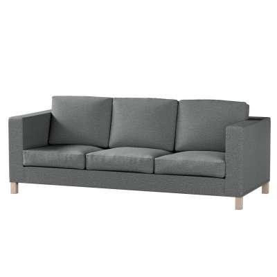 Pokrowiec na sofę Karlanda 3-osobową nierozkładaną, krótki w kolekcji Madrid, tkanina: 161-24