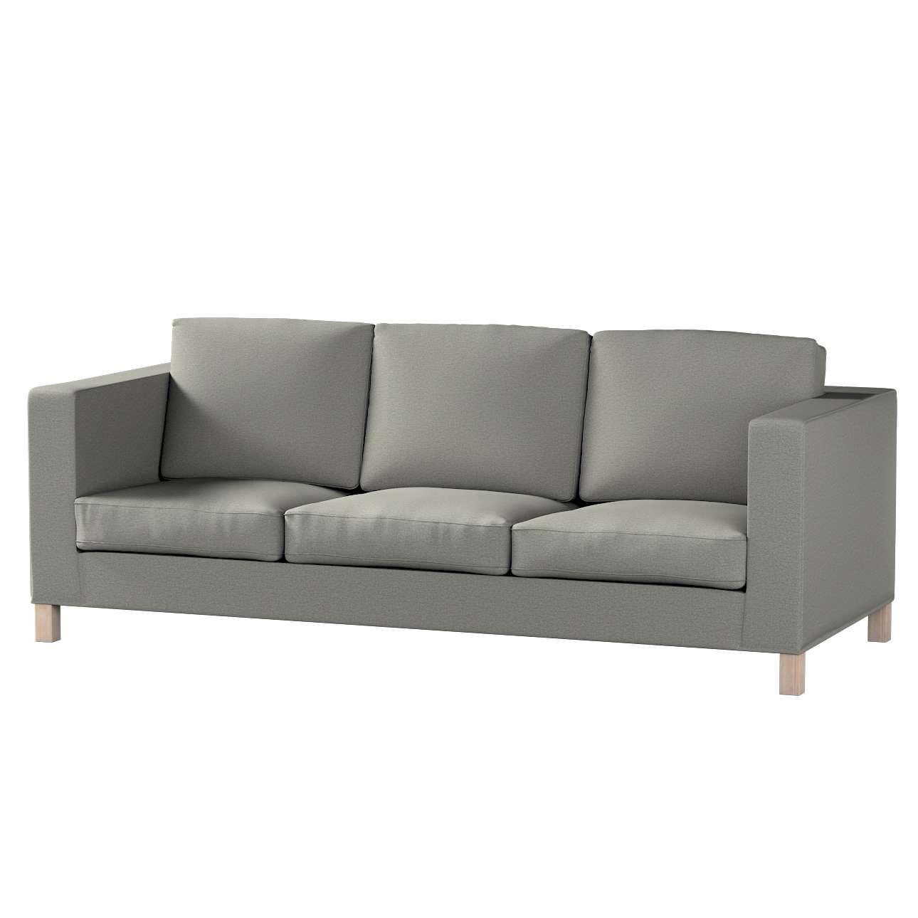 Karlanda klädsel <br>3-sits soffa - kort klädsel i kollektionen Etna, Tyg: 161-25