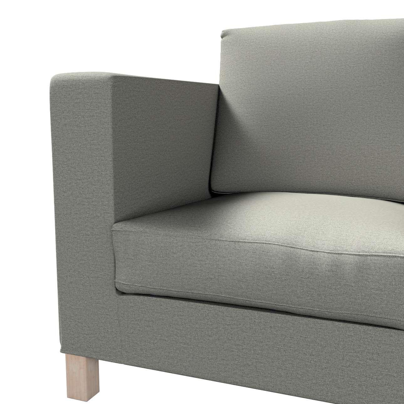 Pokrowiec na sofę Karlanda 3-osobową nierozkładaną, krótki w kolekcji Etna, tkanina: 161-25