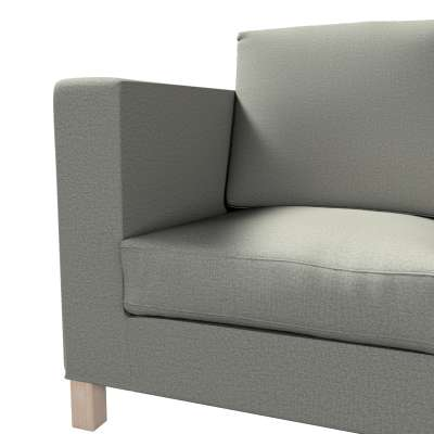 Bezug für Karlanda 3-Sitzer Sofa nicht ausklappbar, kurz von der Kollektion Etna, Stoff: 161-25