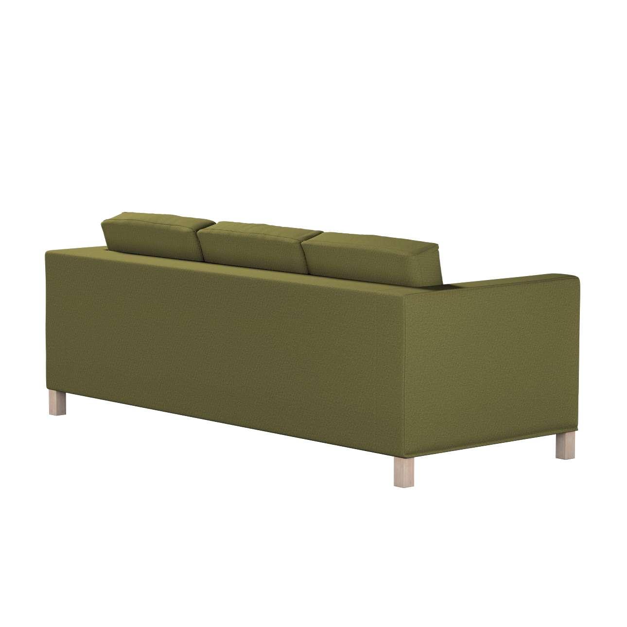 Pokrowiec na sofę Karlanda 3-osobową nierozkładaną, krótki w kolekcji Etna, tkanina: 161-26