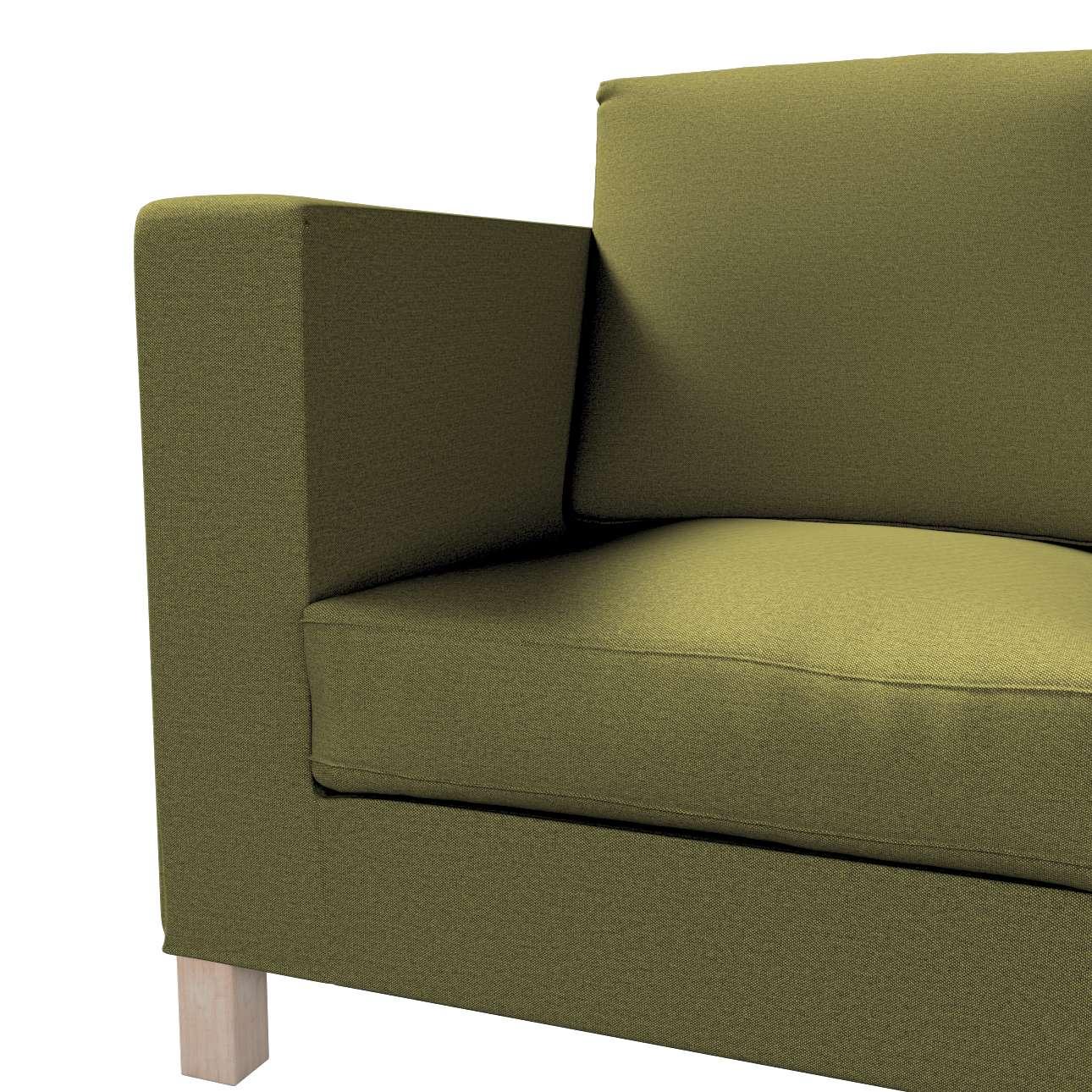 Bezug für Karlanda 3-Sitzer Sofa nicht ausklappbar, kurz von der Kollektion Etna, Stoff: 161-26