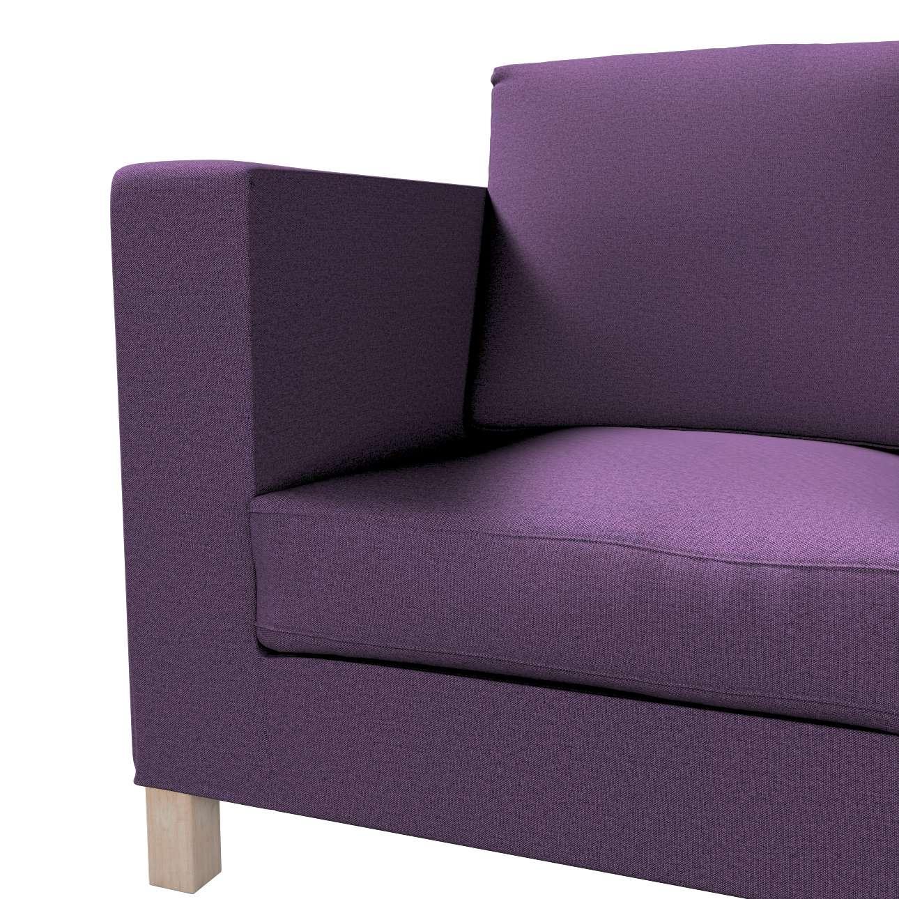 Karlanda klädsel <br>3-sits soffa - kort klädsel i kollektionen Etna, Tyg: 161-27