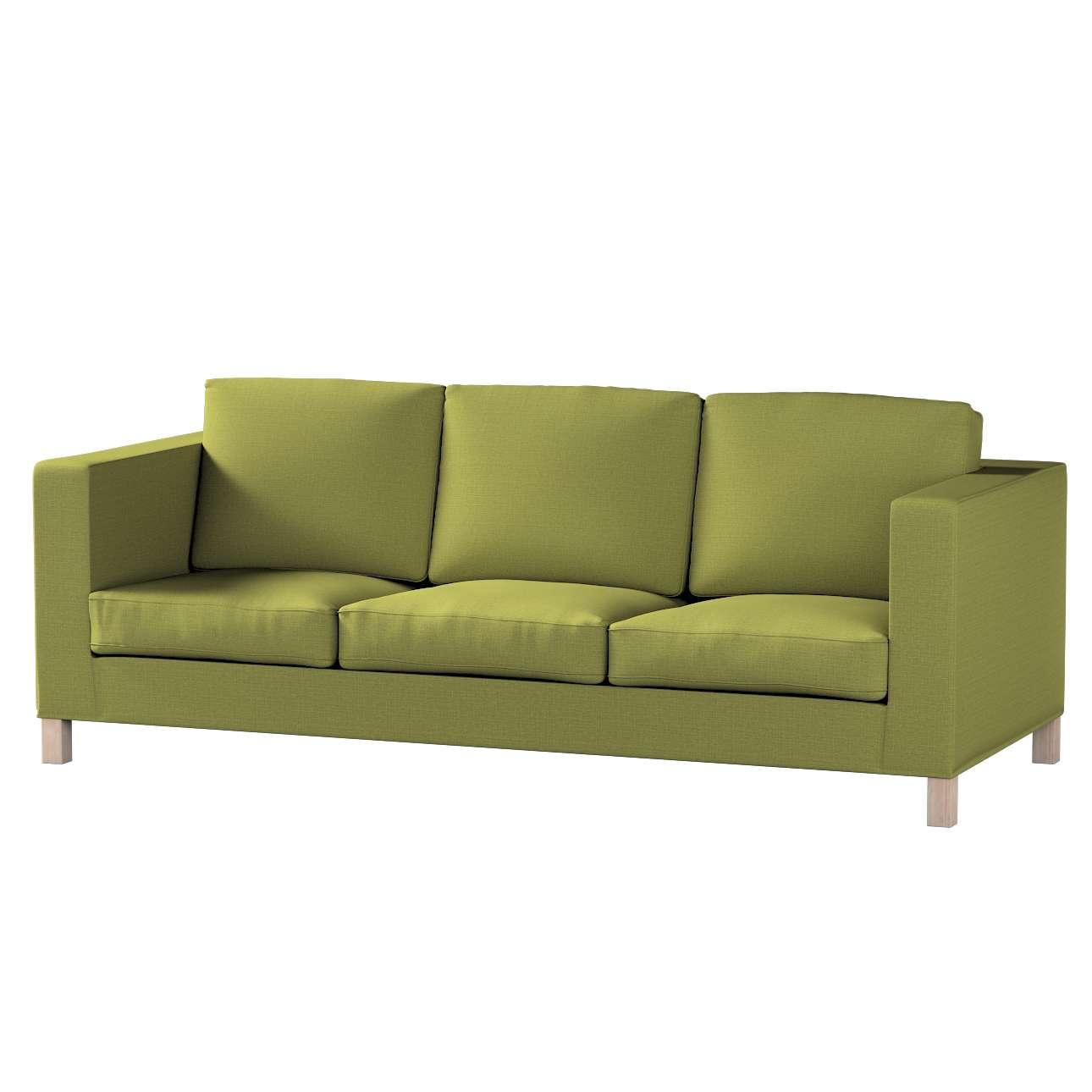 Karlanda klädsel <br>3-sits soffa - kort klädsel i kollektionen Living 2, Tyg: 161-13