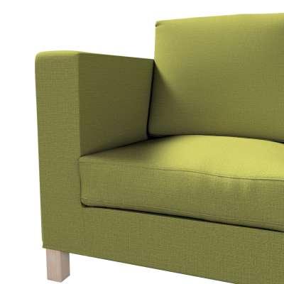 Pokrowiec na sofę Karlanda 3-osobową nierozkładaną, krótki w kolekcji Living, tkanina: 161-13