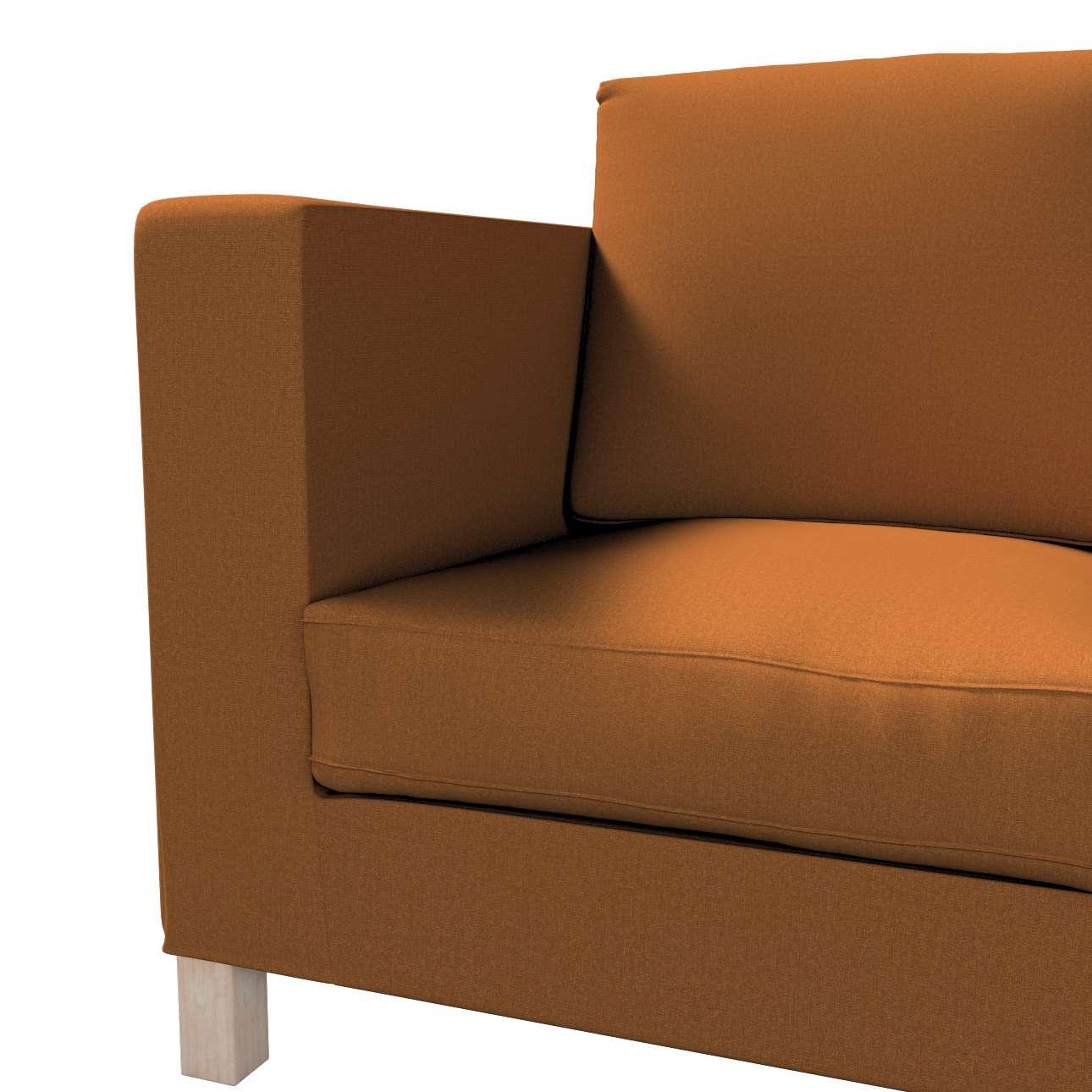 Bezug für Karlanda 3-Sitzer Sofa nicht ausklappbar, kurz von der Kollektion Living II, Stoff: 161-28